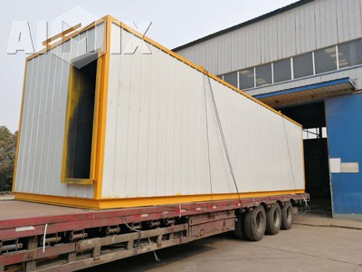 Aimix Sand drying plant Was Shipped to Malaysia