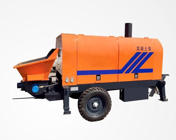 BS25-08-56R-Concrete Trailer Pump For Sale