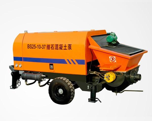 BS25-10-37-Concrete Trailer Pump For Sale