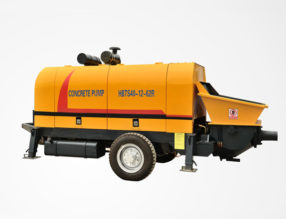 HBT40-R-Concrete Trailer Pump