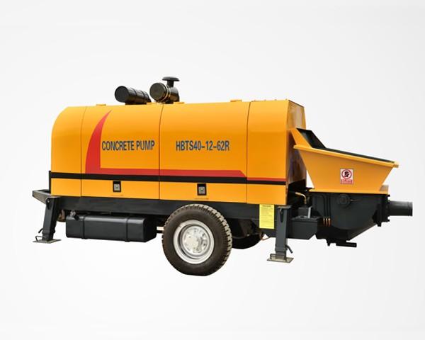 HBT40-R-Concrete Trailer Pump