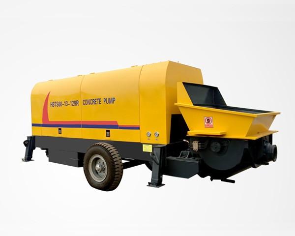 HBT60-R-Concrete Trailer Pump