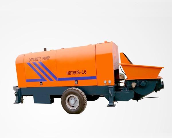 HBTS80-13-129R-Concrete Trailer Pump