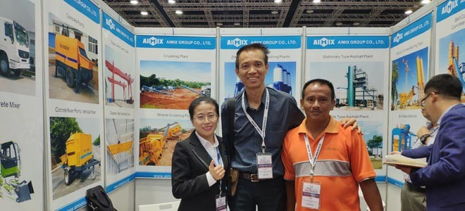 AJ60 Stationary Concrete Batching Plant Was Sold In Ipoh Malaysia