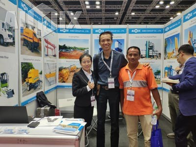 HZS60 Stationary Concrete Batching Plant Was Sold In Ipoh Malaysia