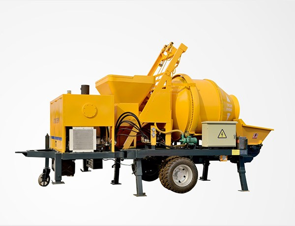 JBS30 diesel type concrete mixing pump