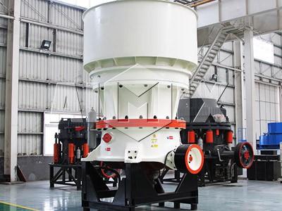 Single Hydraulic Cylinder Cone crusher