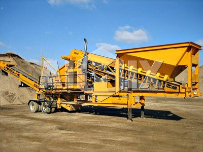 Wheel/Tyre Mobile Stone Crusher For Sale