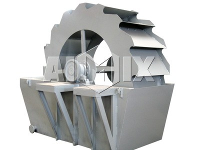 XS Series Bucket Wheel Sand Washer