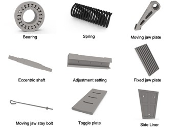 jaw crusher spare parts