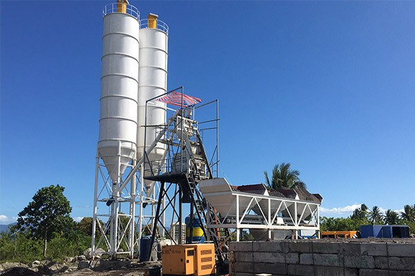 AJ 50 Concrete Batching Plant Installation in Philippines