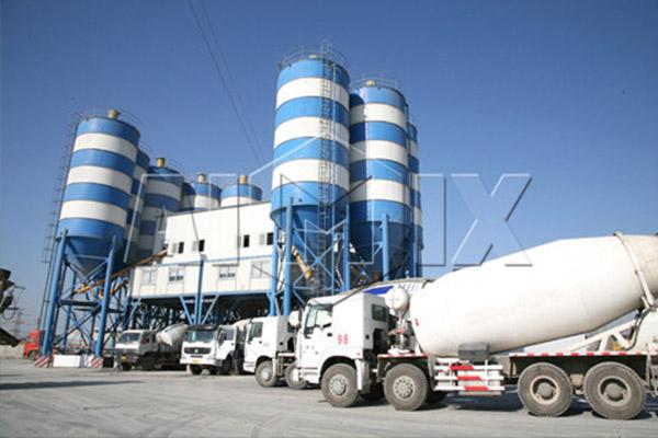 AJ-120 Concrete Batching Plant