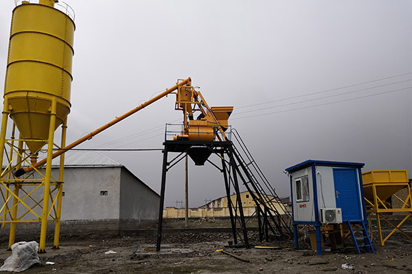 AJ-25 Concrete Batching Plant