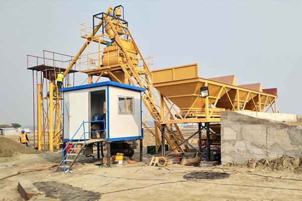 AJ-35 Concrete Batching Plant
