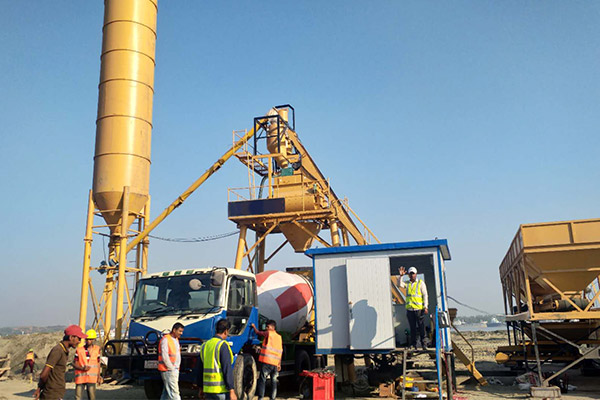 AJ-35 Concrete Batching Plant Installation in Malaysia