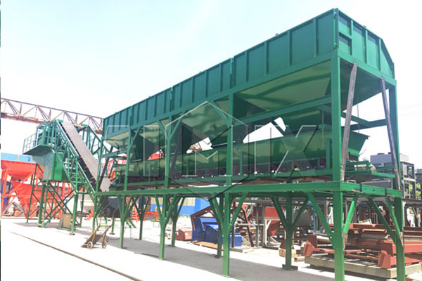AJY-50 Concrete Batching Plant Installation in Bangladesh