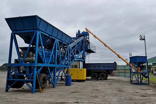AJY-35 Concrete Batching Plant Installation in Philipine