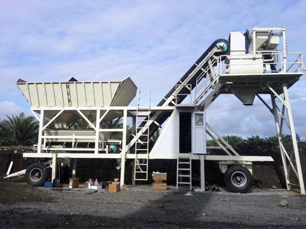 AJY-25 Concrete Batching Plant