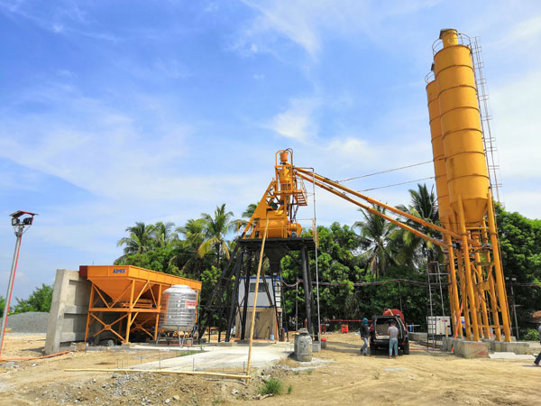 Aimix 35 m³/h Concrete Batching Plant in Philippines