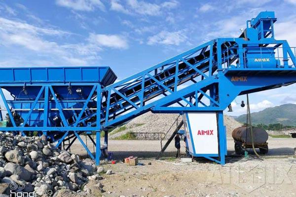 AJY35 concrete batching plant