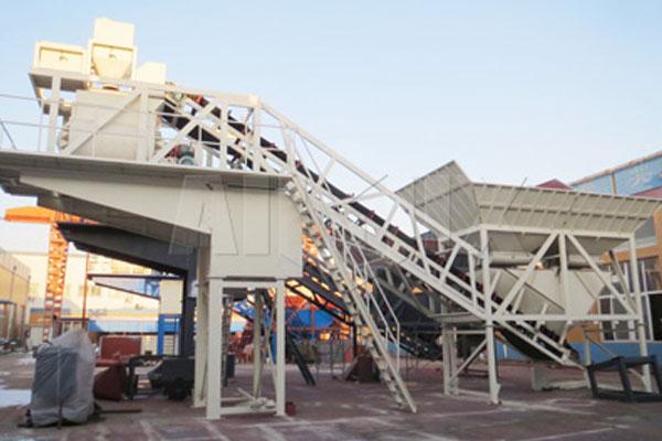 AJY50 concrete batching plant