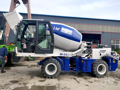 AS-2.6 Self Loading Mixer Truck
