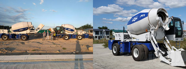 AS-3.5 & AS-5.5 Self Loading Concrete Mixer In Philippines