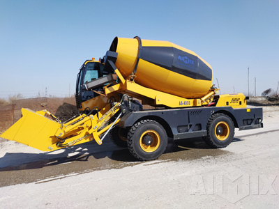 AS-3.5 Self Loading Mixer Truck