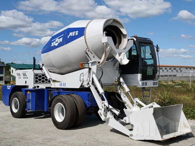 AS-5.5 Self Loading Mixer Truck
