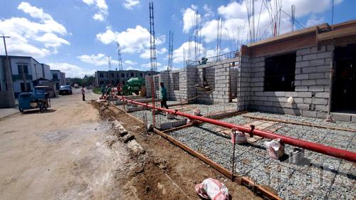 Aimix ABJZ40C concrete mixer pump in Philippines