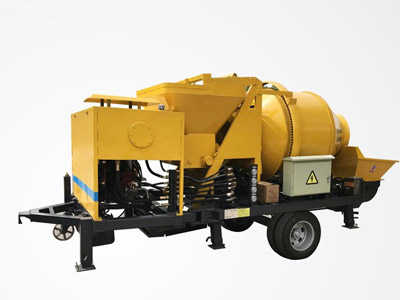 Aimix diesel concrete mixer pump