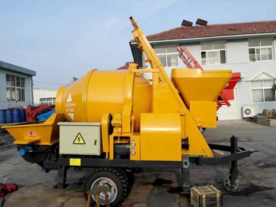 Aimix electric concrete mixer pump