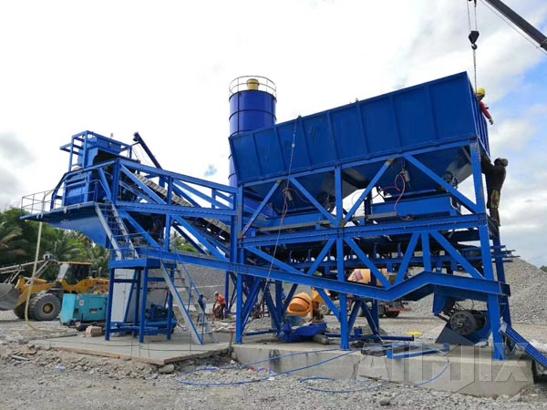 Aimix Mobile Concrete Batching Plant For Sale