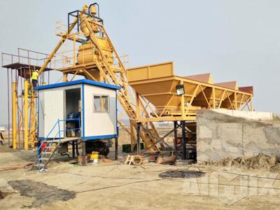 AJ35 concrete batching plant