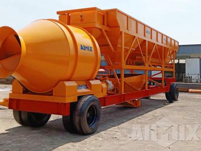 AJY-60 Portable Reversible Concrete Batching Plant