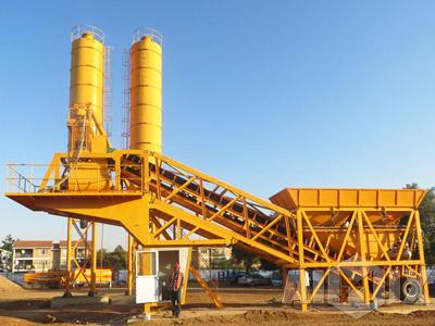 AJY25 mobile concrete batching plant