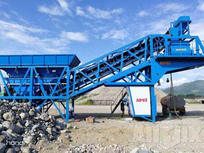 AJY35 mobile concrete batching plant