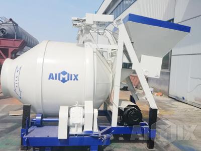 Drum Type Concrete Mixer