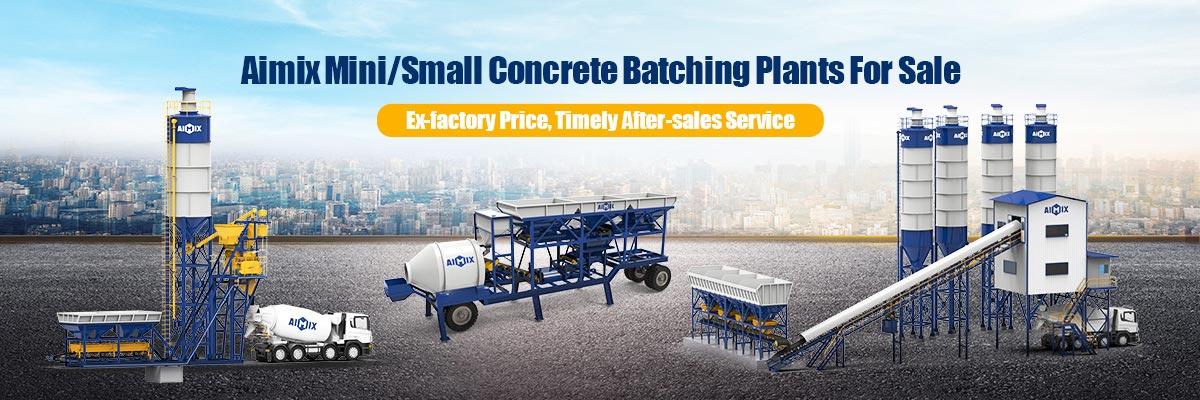 mini concrete batching plant